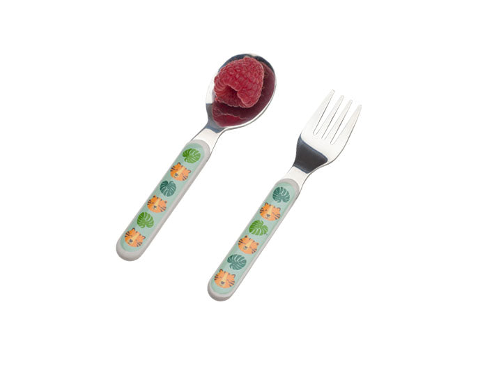 Jungle Tiger Silverware Set
