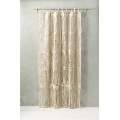 Woven Curtain Panel