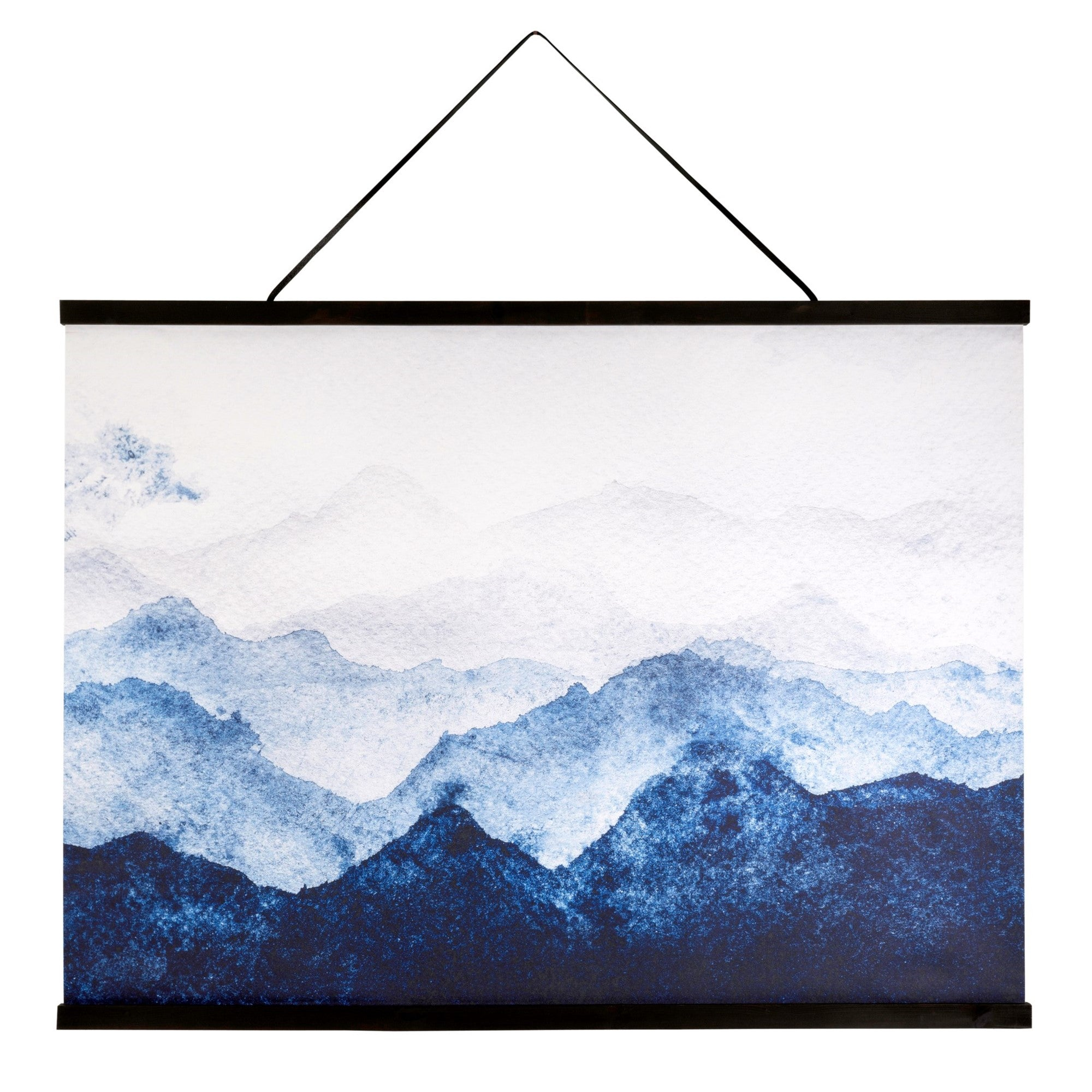 Blue Painted Wall Hanging