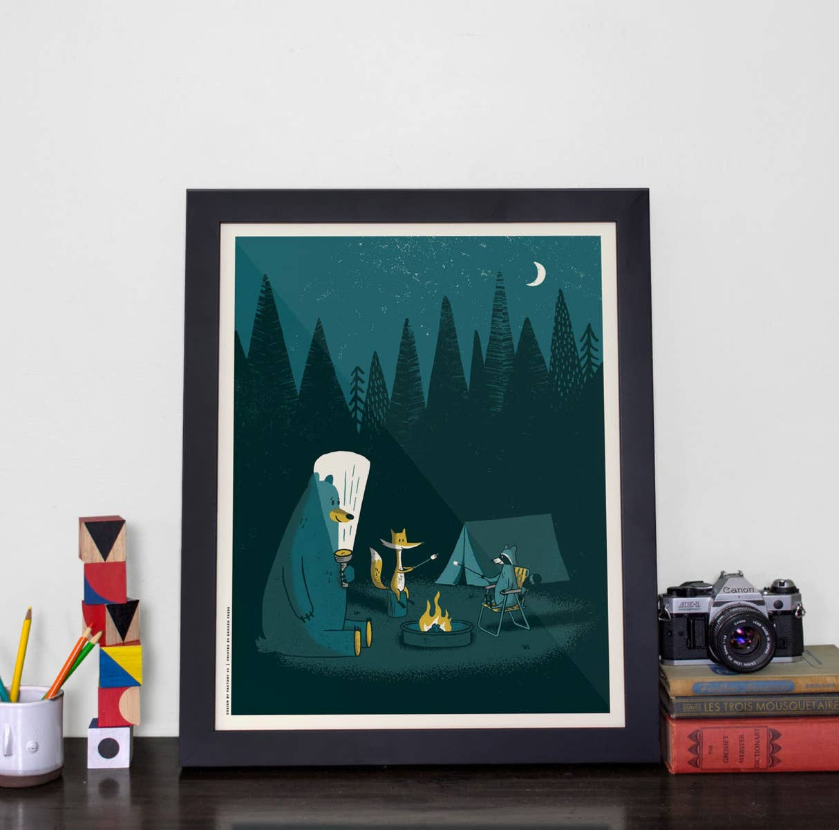 Campfire Stories Screen Print