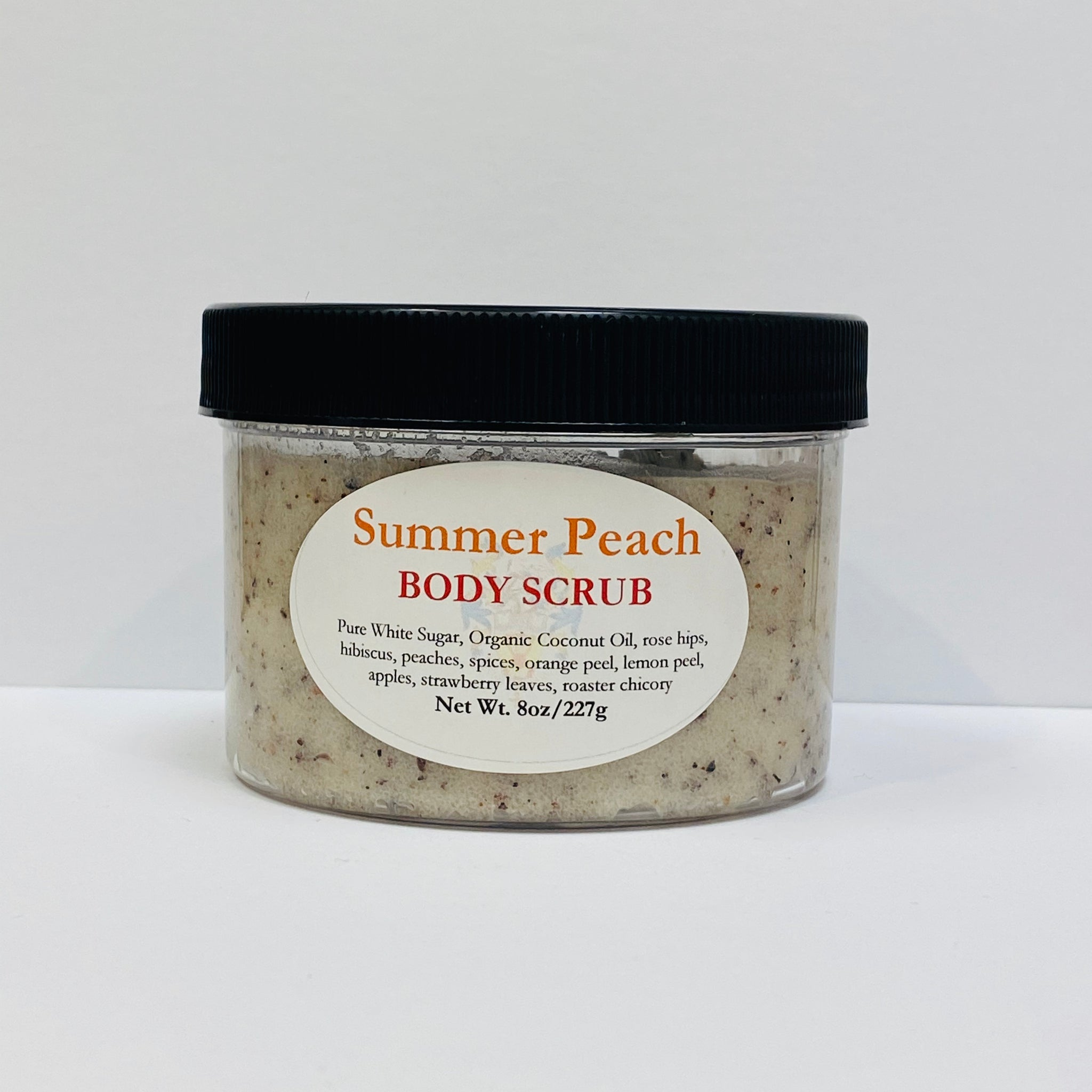 Summer Peach Sugar Scrub