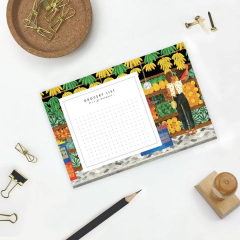 Fruit Market Notepad