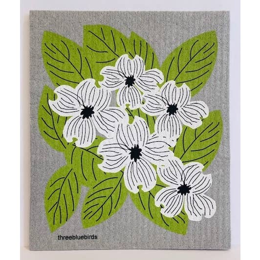 Dogwood Swedish Dishcloth