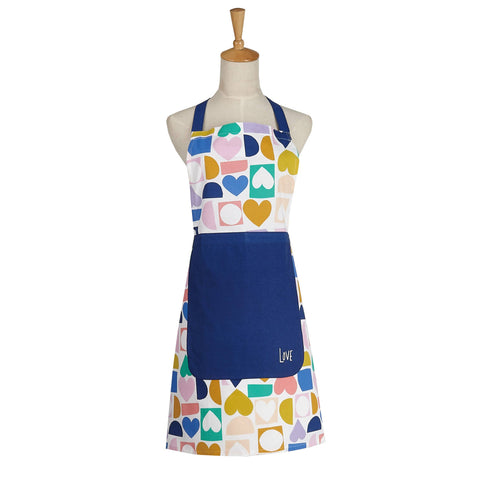 Love Hearts Kitchen Apron