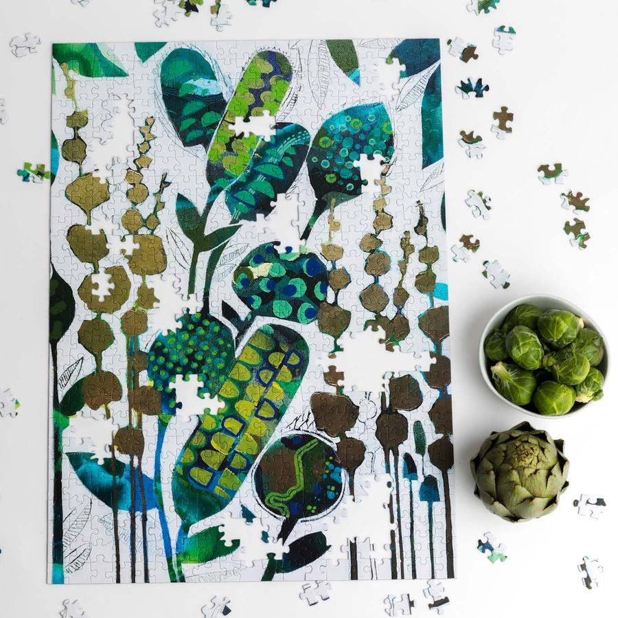Botanical Song 500 Piece Modern Jigsaw Puzzle