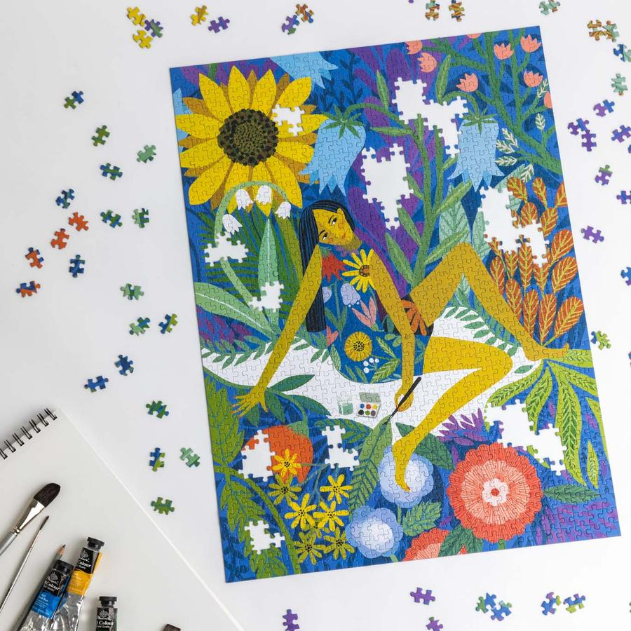 Dream Garden 1000 Piece Modern Jigsaw Puzzle