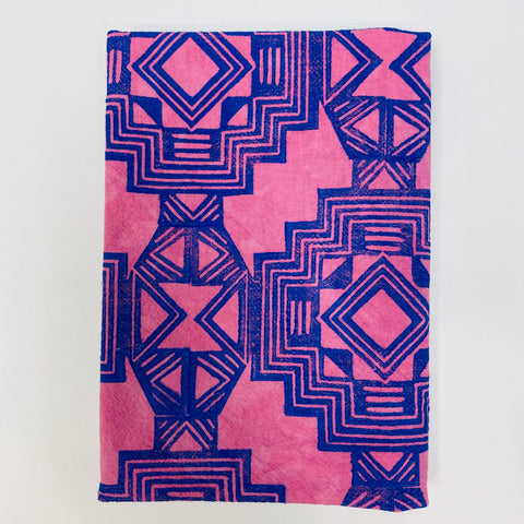 Purple and Blue Diamond Dinner Napkin