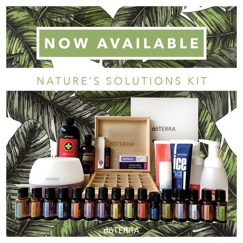 doTERRA Nature's Solutions Essential Oils Kit