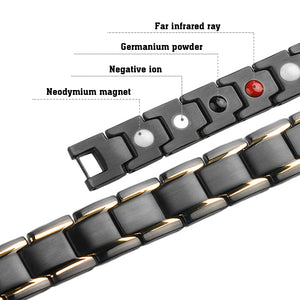 Hottime 4 IN 1 Bio Energy Magnetic Therapy Bracelet