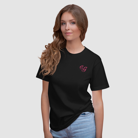 - Soldier Girl Embroidered T-Shirts - SZERDS