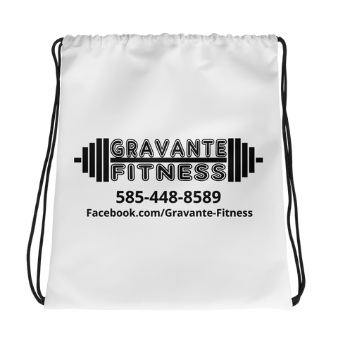 - Gravante Fitness Drawstring Bags - SZERDS