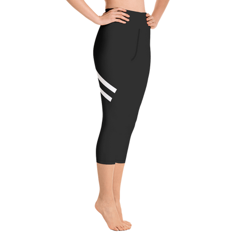- Gravante Fitness Yoga Capri Leggings - SZERDS