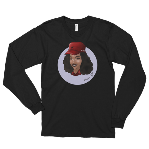 - Soldier Girl Long Sleeve Shirts - SZERDS