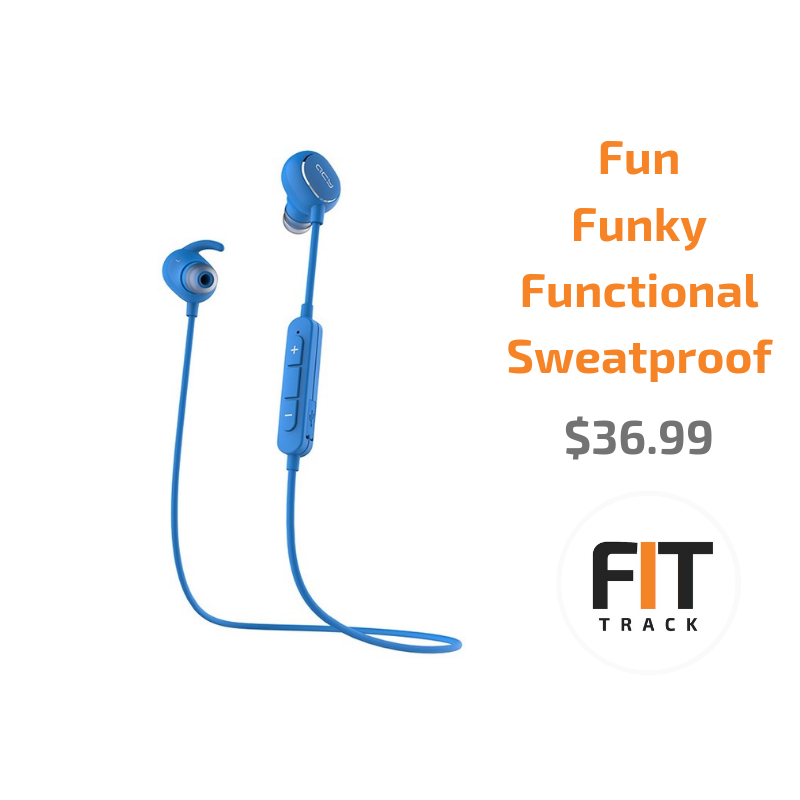 QCY QY19 Bluetooth Sweatproof Sports Earphones - Apple Airpods alternatives