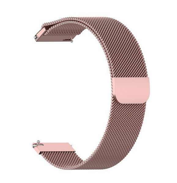 Stunning Quick Release Stainless Steel Milanese Loop Watch Bands for Apple Watch, Withings, Garmin & Samsung Smartwatches at FitTrack Australia