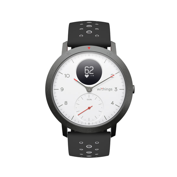 Withings Steel HR Sport - Multisport Hybrid Smartwatch White - FitTrack Australia