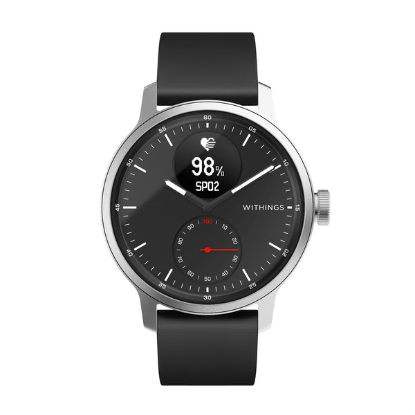 Withings ScanWatch - Hybrid Smartwatch - 42mm Black - FitTrack Australia