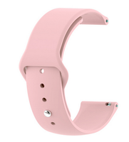 Pink - Silicon 18mm Quick Release Sports Band for Withings Steel & Steel HR & Move (36mm)