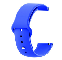 Royal Blue - Silicon 18mm Quick Release Sports Band for Withings Steel & Steel HR & Move (36mm)