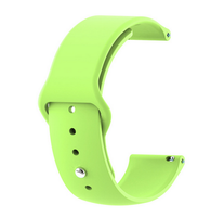 Lime Green - Silicon 18mm Quick Release Sports Band for Withings Steel & Steel HR & Move (36mm)