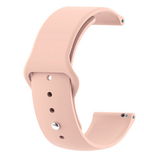 Light Pink - Silicon 18mm Quick Release Sports Band for Withings Steel & Steel HR & Move (36mm)