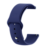 Navy Blue - Silicon 18mm Quick Release Sports Band for Withings Steel & Steel HR & Move (36mm)
