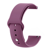 Purple - Silicon 18mm Quick Release Sports Band for Withings Steel & Steel HR & Move (36mm)