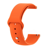 Orange - Silicon 18mm Quick Release Sports Band for Withings Steel & Steel HR & Move (36mm)