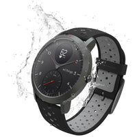 Water Resistant Withings / Nokia HR Steel Sport Black Fitness Tracker - FitTrack (Fitness Trackers Australia)