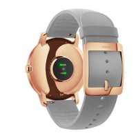 The Backing of a Withings HR Steel Hybrid Rose Gold / Grey Fitness Tracker - FitTrack Australia