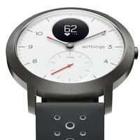 Withings Steel HR Sport - Multi-Sport Hybrid Smartwatch - White