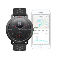 Use the Health Mate App with a Withings / Nokia HR Steel Sport Black Fitness Tracker - FitTrack (Fitness Trackers Australia)