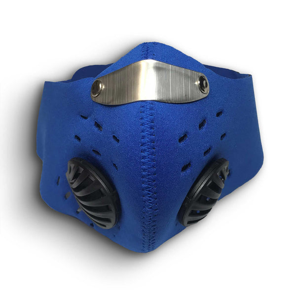 Jogging Face Mask with Valve & Replaceable Filters (for dust & smoke)