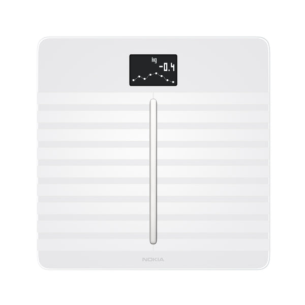 Withings / Nokia White Body Cardio - Body Composition & Heart Health Wifi Smart Scale - FitTrack Australia