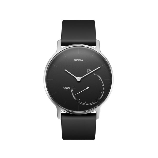 Withings / Nokia HR Steel Black - 36mm Fitness Tracker - FitTrack Australia