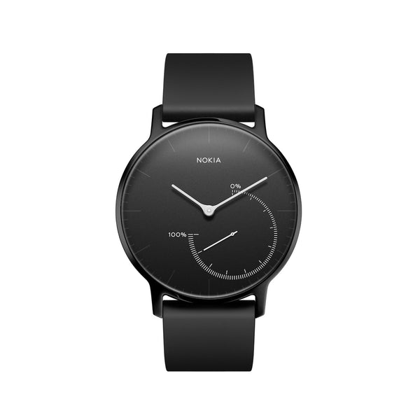 Withings / Nokia HR Steel Full Black Fitness Tracker - FitTrack (Fitness Trackers Australia)