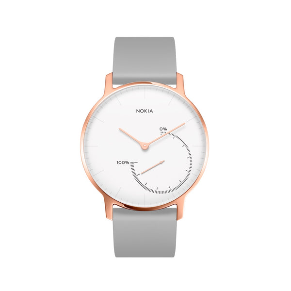 Withings / Nokia HR Steel Rose Gold Fitness Tracker - FitTrack (Fitness Trackers Australia)