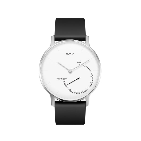 Withings / Nokia HR Steel White Fitness Tracker - FitTrack (Fitness Trackers Australia)