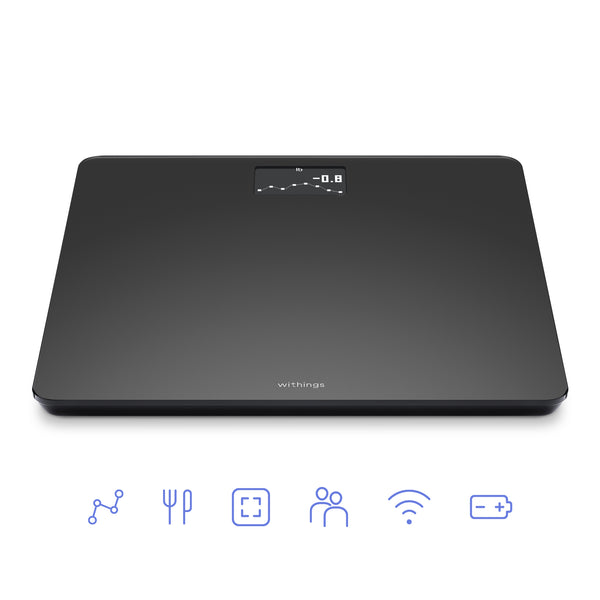 Withings Body Black Edition - Connected BMI Wifi Smart Scale - FitTrack Australia