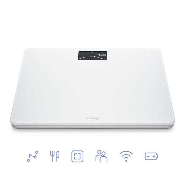 Withings Body White Edition - Connected BMI Wifi Smart Scale - FitTrack Australia