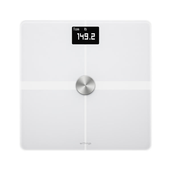 Withings Body+  White Edition - Body Composition Wifi Smart Scale - FitTrack Australia