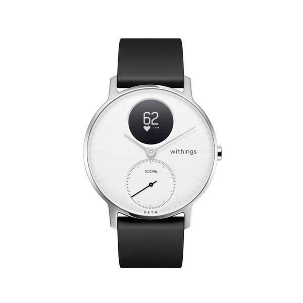 Withings HR Steel Hybrid White Fitness Tracker - FitTrack Australia