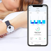 Withings HR Steel Hybrid White Fitness Tracker - Track your Sleep - FitTrack Australia