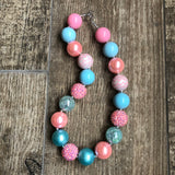 CUSTOM Chunky Bubblegum Necklace NO PENDANT