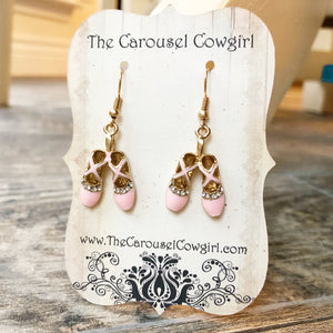 Ballet Shoe Earrings