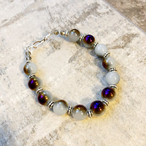 Purple Moon Bracelet