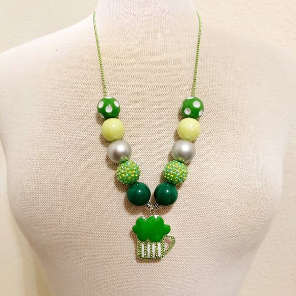 Ball and Chain Necklace - Saint Patrick's Day