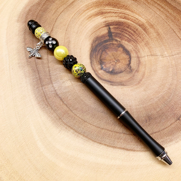 Busy Bee Beaded Planner / Journaling Pen