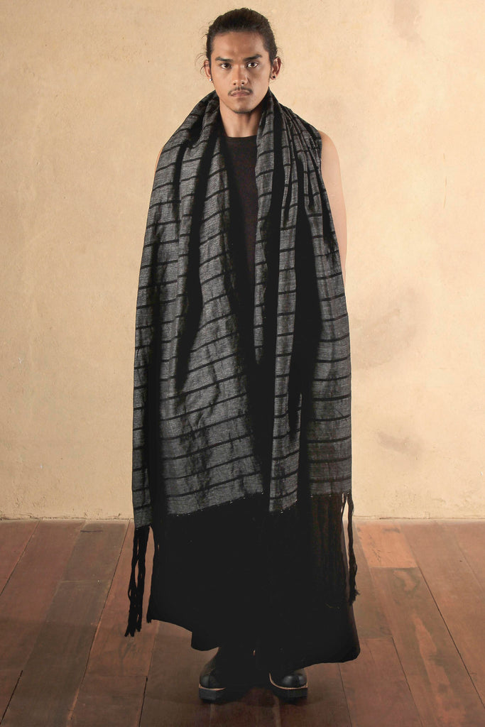 Drago Scarf Midnight Fog