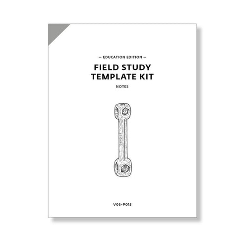 Field Study Template Kit, Education Edition